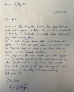 Amalienhof Beilstein - Feedback Susanne und Jürgen