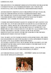 Schloss Heinsheim Bad Rappenau - Feedback Monika und Tilo