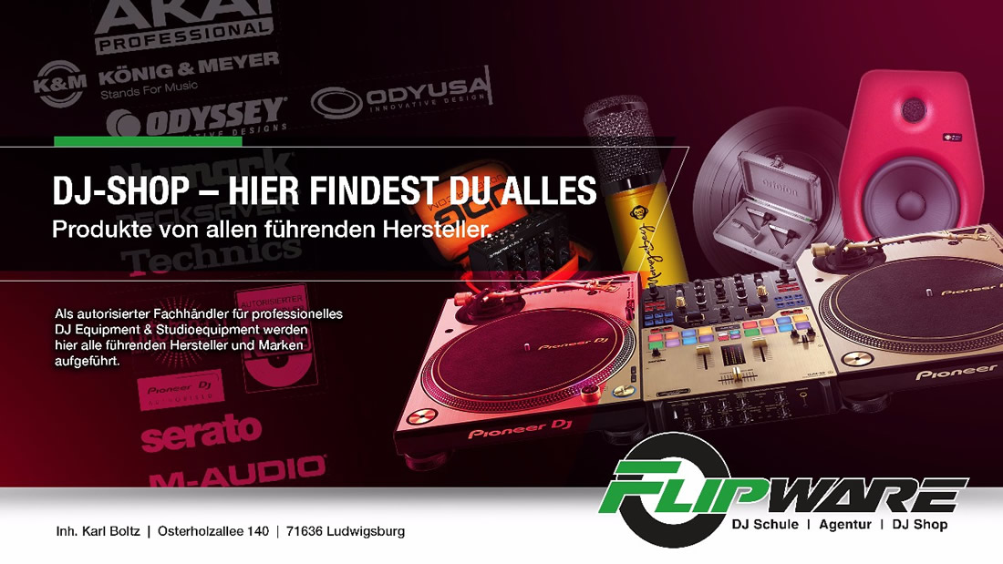 DJ-Equipment aus  Grünkraut