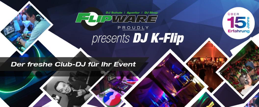 DJ Agentur in Metzingen - Flipware: Hochzeits-DJ, Licht & Tontechnik, DJ-Schule, Equipment, Online Shop